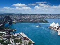 Sydney Australia from Above 500x300