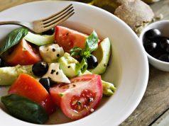 Seporsi menu diet Mediterania