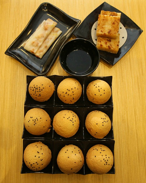 Kreasi Menu Baru THW BBQ CHicken Bun Pertama di Dunia & Chicken Pan Fried Radish Cake & Mushroom Prawn Cheong Fun