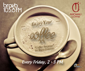 ENJOY YOUR COFFE WITH ANOMALI COFFEE