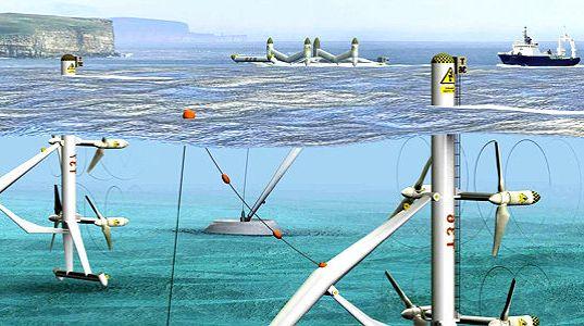 pembangkit listrik air laut