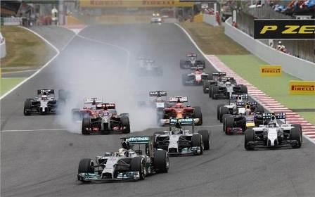 Formula 1 Line Up