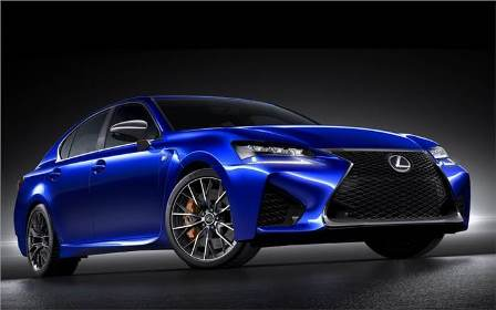 New Lexus GS-f