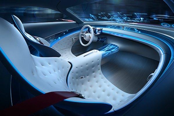 The Vision Mercedes-Maybach 6 Interior