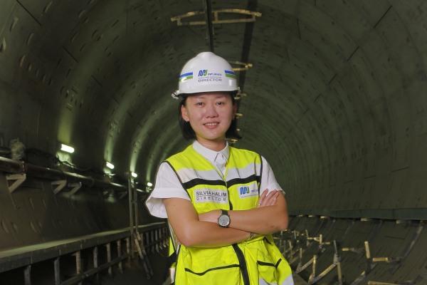 Direktur Konstruksi MRT Jakarta - Silvia Halim