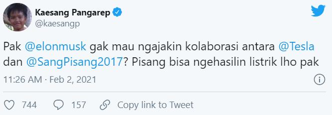 Twitter Kaesang