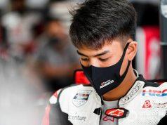 U-Mask di asian talent cup motogp