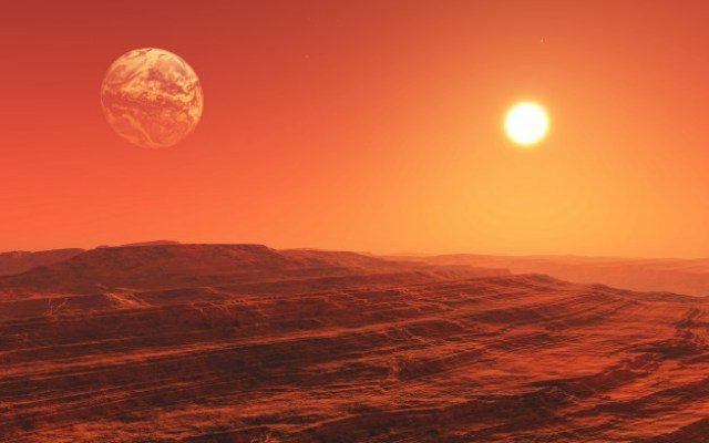 Misteri Pola Laba-Laba Raksasa Di Mars