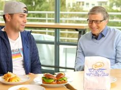 menu makan Bill Gates