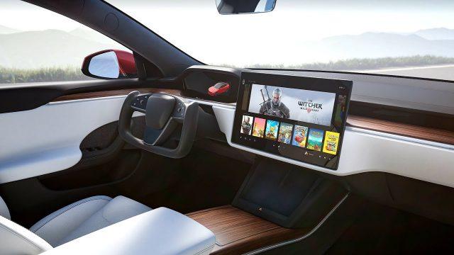 Elon Musk Ungkap Kemampuan Gaming Di Tesla Model S Paid Setara Dengan PS5