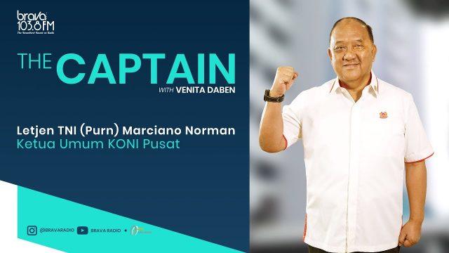 The Captain: Pentingnya Pembinaan Atlet-Atlet Sejak Dini Menurut Letjen TNI (PURN) Marciano Norman