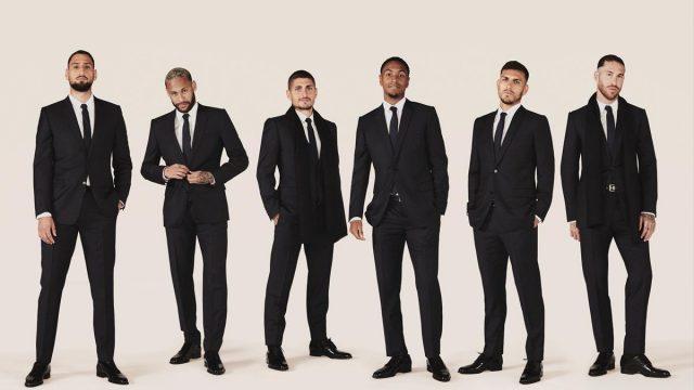 Pemain PSG Bergaya Mewah dan Elegan Berbalut Busana Dior